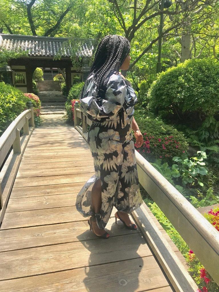 Blogger Japanese Garden MsChurchDress Aquila Farrell